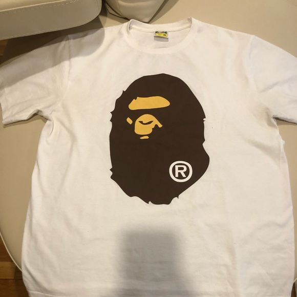 b425f867 Bape Shirts | A Bathing Ape Mens T Shirt | Poshmark